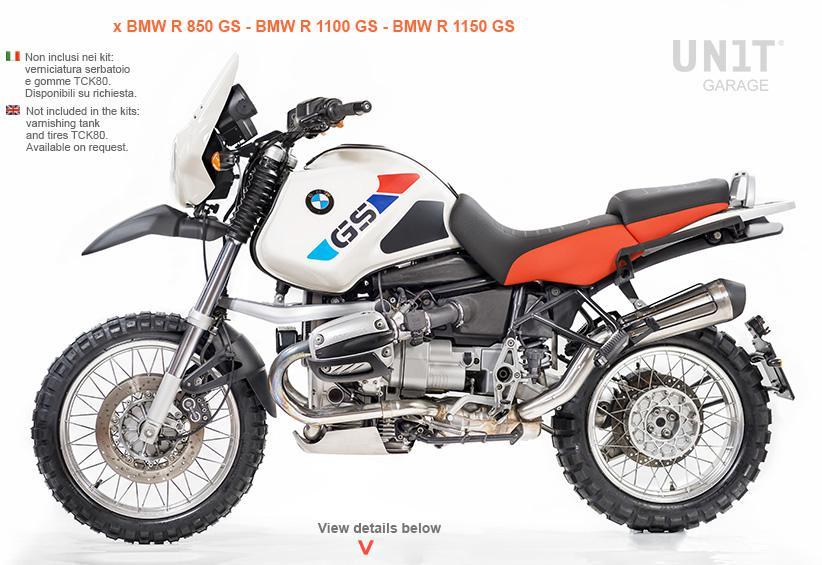 R115 G S Pro Kit For Your Bmw R850gs R1100gs R1150gs