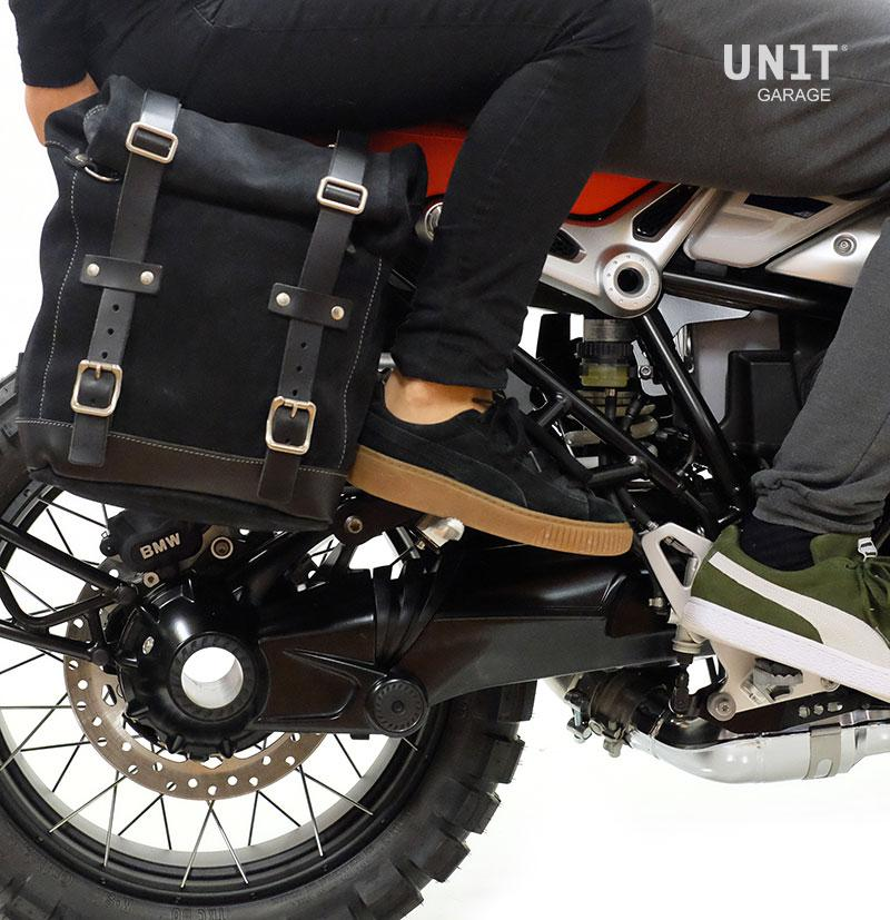 2652ee36e9 Waxed Suede Side Pannier + Subframe NineT Series