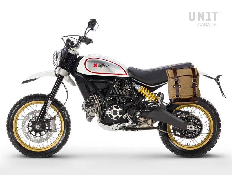 Side Pannier Canvas + Subframe Ducati Scrambler DS