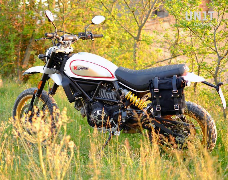 Side Pannier Canvas Subframe Ducati Scrambler Ds