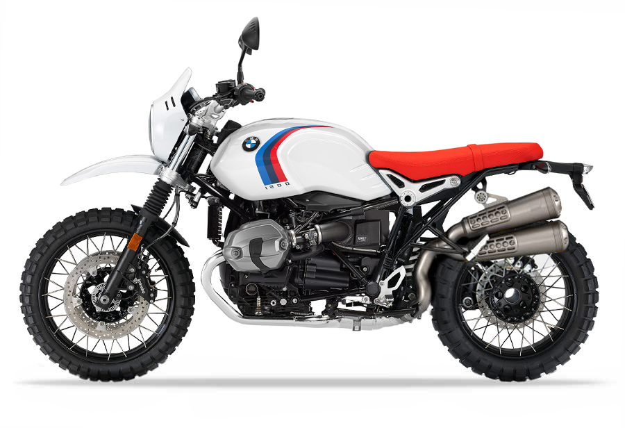 R nineT Urban GS (with high exhaust)