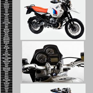 2012 Motorcycle Specificatios