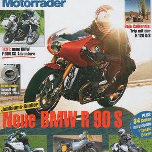 BMW Motorrader summer 2013 cover