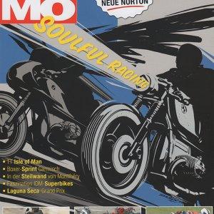 MR Motorrad Magazin summer 2013 cover
