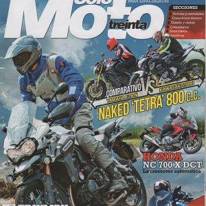 Solo Moto Treinta summer 2013 cover