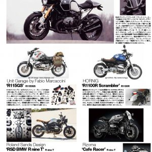 Kit R115 G/S BMW BIKES JAPAN march 2015
