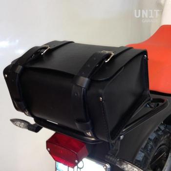 Rear Luggage Bag GS grain leather