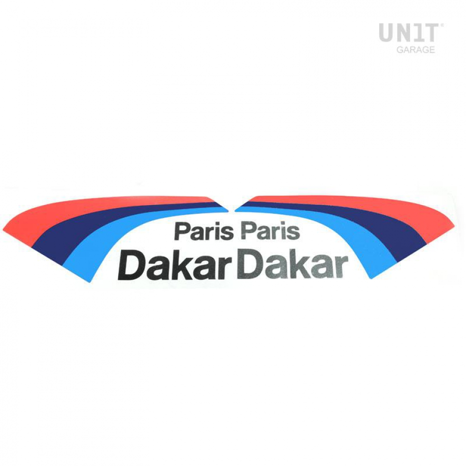 Stickers motorsport PARIS DAKAR