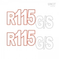 Stickers R115 GS