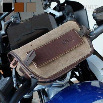 Handlebar bag Sahara Split leather