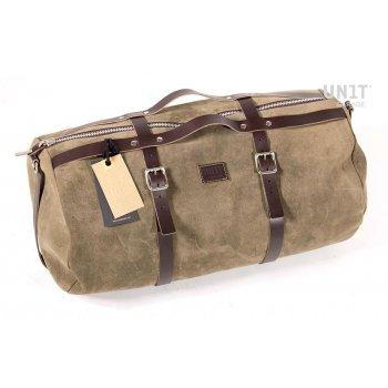 Kalahari Duffle Bag 43L Waxed Suede