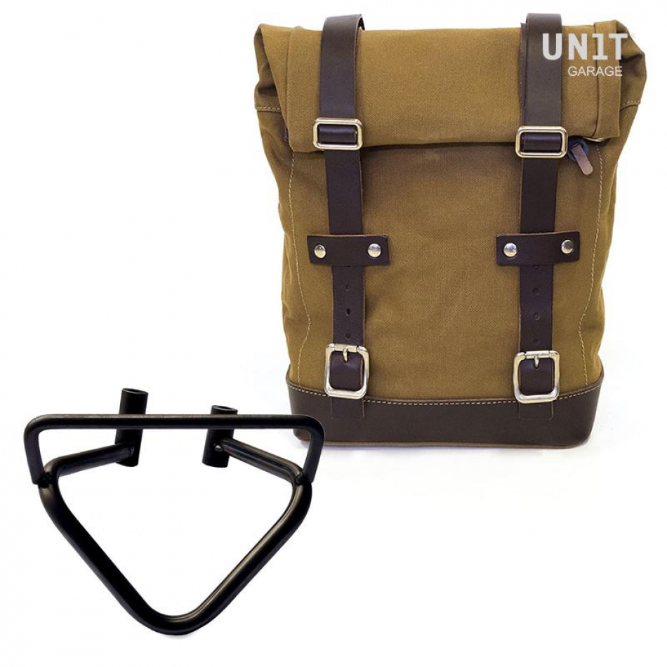 Side Pannier Canvas + Right Subframe husqvarna 401 (2020 until now)