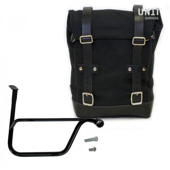 Side Pannier Canvas + Right Subframe Triumph Speed Twin