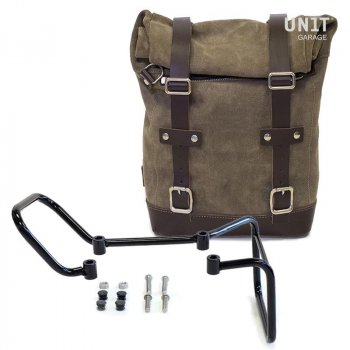 Waxed Suede Side Pannier + Subframe husqvarna 401