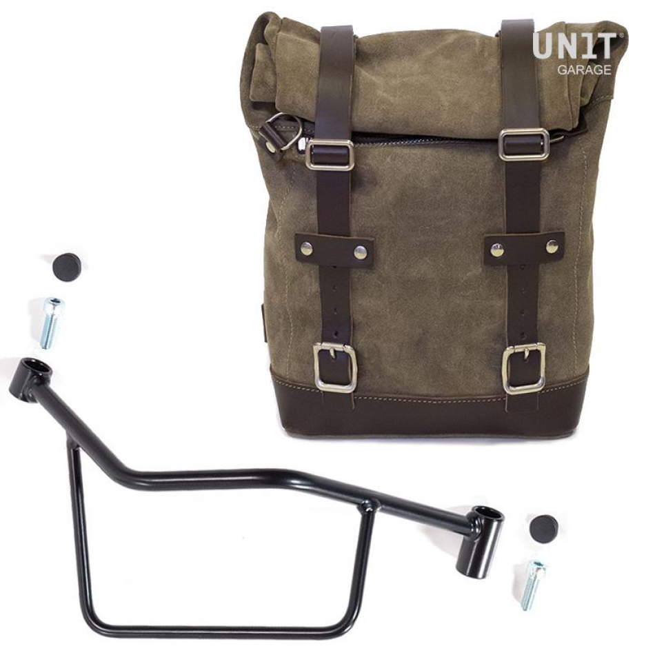 Waxed Suede Side Pannier + Subframe R 1200 R LC DX