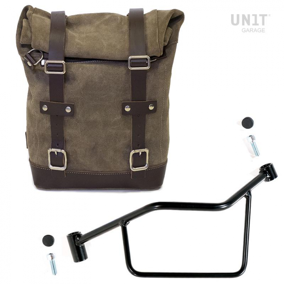 Waxed Suede Side Pannier + Subframe R 1200 R LC SX