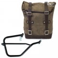 Waxed Suede Side Pannier + Right Subframe Yamaha