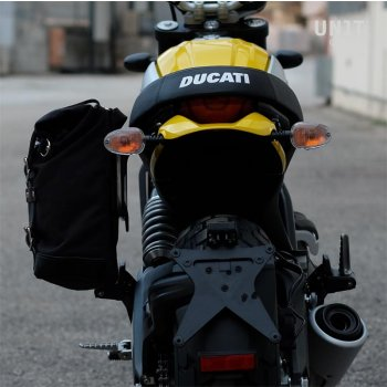 Side Pannier + subframe Ducati Cafe Racer