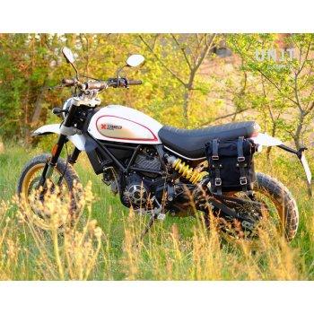 Side Pannier + subframe Ducati Desert Sled