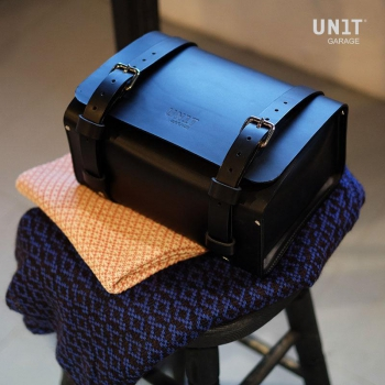 Rear Luggage Bag in grain leather