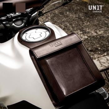 Tank bag leather