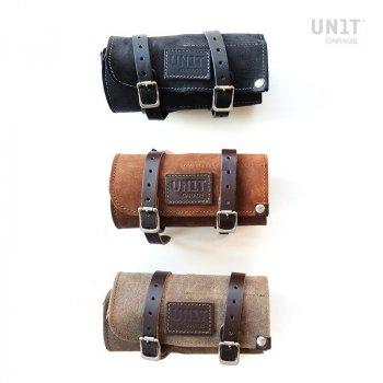 Tool bag in split leather