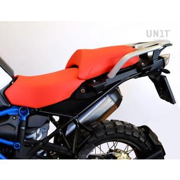 Seat cover Rallye in Orange Leather