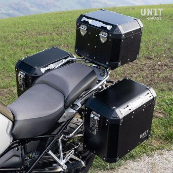Unitgarage aluminium Panniers 45L