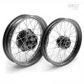 Pair of spoked wheels Moto Guzzi V7 32M6