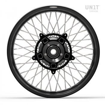 Pair of spoked wheels NineT 48M6