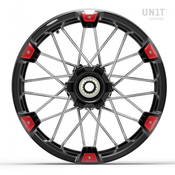 Pair of spoked wheels NineT Racer & Pure 24M9 SX tubeless