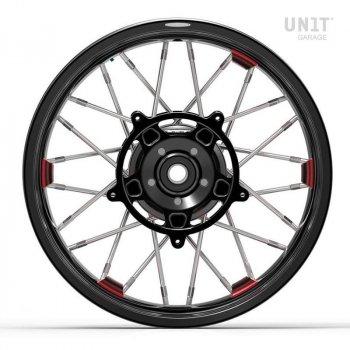 Pair of spoked wheels NineT Scrambler 24M9 SX tubeless