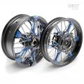 Pair of spoked wheels NineT UrbanGS 24M9 SX-Spider Tubeless