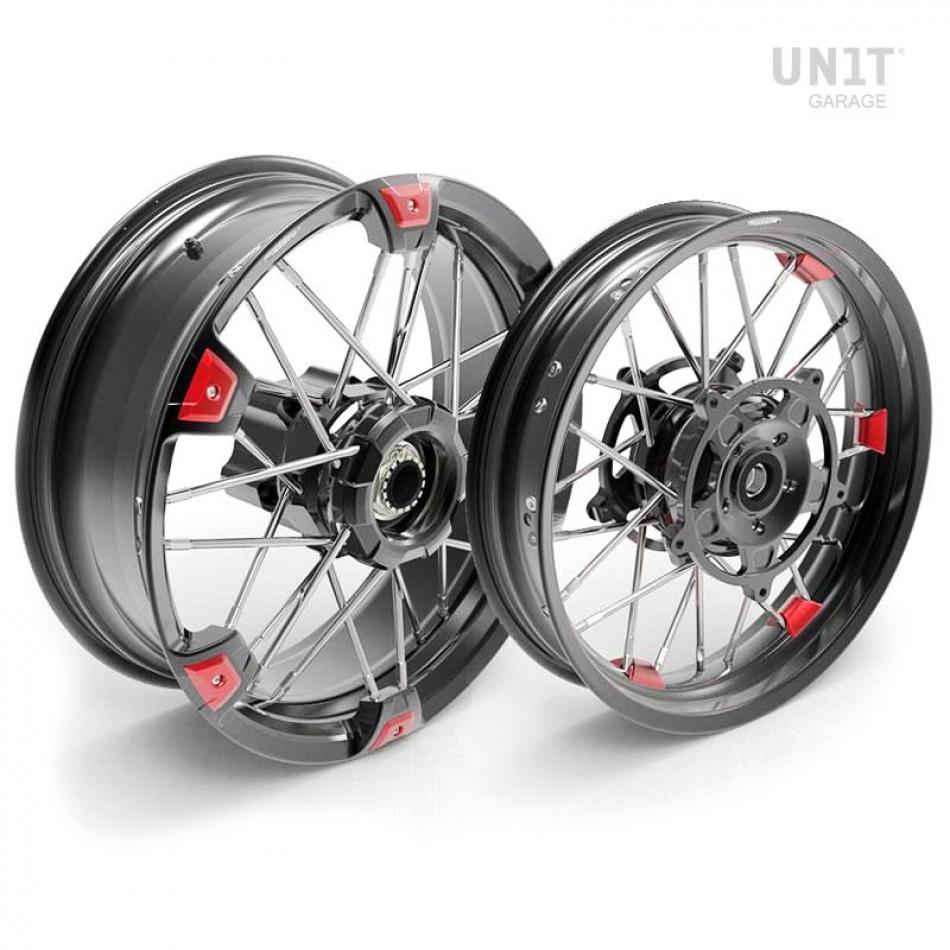 Pair of spoked wheels NineT UrbanGS 24M9 SX Tubeless