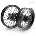 Pair of spoked wheels Pan America 24M9