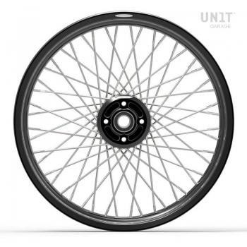 Pair of spoked wheels R100RS 48M6 (DRUM BRAKE)