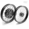 Pair of spoked wheels R100RT 48M6 (DRUM BRAKE)