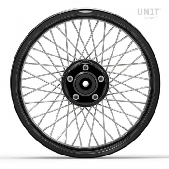 Pair of spoked wheels Triumph BonnevilleSE 48M6