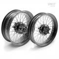 Pair of spoked wheels Triumph Thruxton 48M6