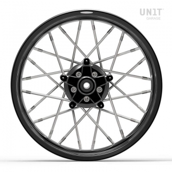 Pair of spoked wheels Yamaha MT09 ABS 24M9