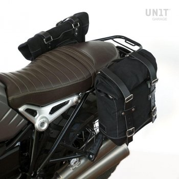 Two Side Panniers Canvas + Symetrical Double Subframe NineT