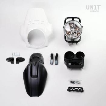 Kit front headlight PRO FENOUIL (matt black) R850R-R1100R