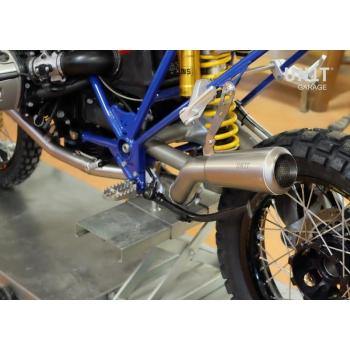 Complete Titanium exhaust kit