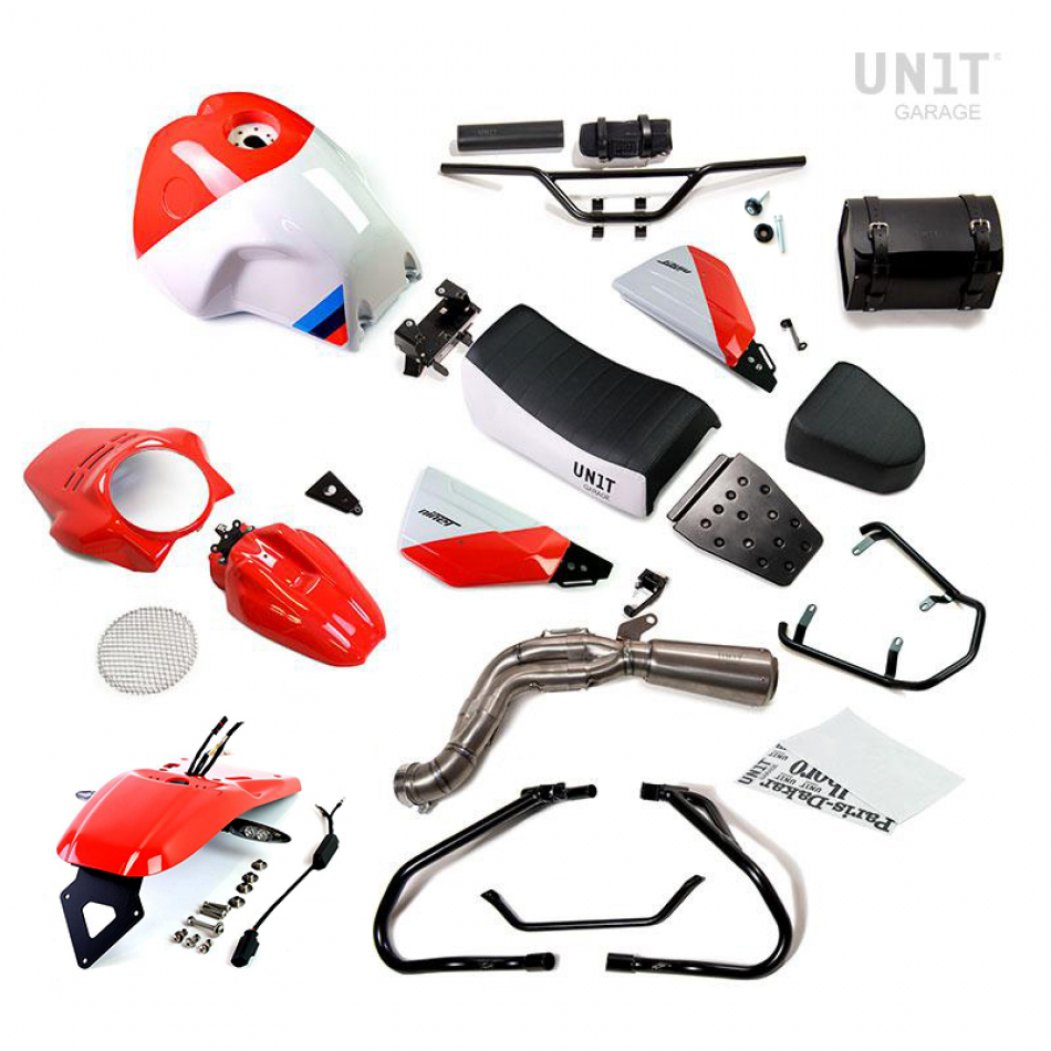 Kit NineT PARIS DAKAR GR86 with accessoires