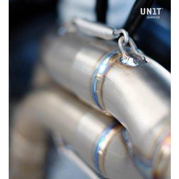 High pipe in Titanium