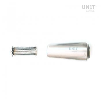 Low Pipe in titanium + Support
