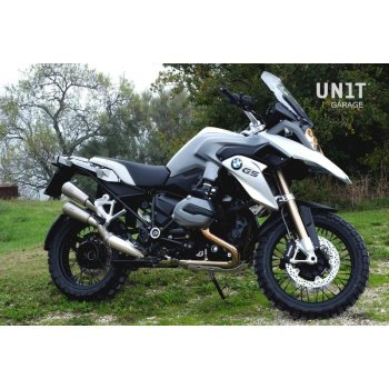 Double gp style exhaust R 1200 GS LC