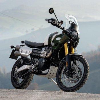 Triumph 1200XC & XE exhaust