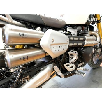 Triumph 1200XC & XE Headpipe without catalitic converter