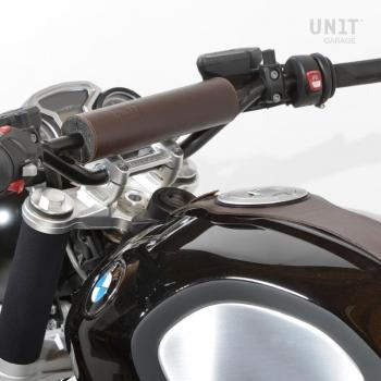 Handlebar bumper in Brown leather